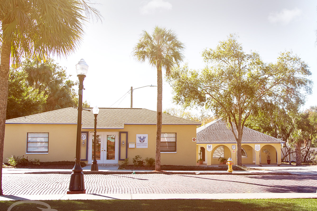 Unbehagen Advisors Tarpon Springs Campus. Located right around the corner from Dunedin, FL. Come see us!
