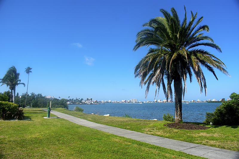 Views of Clearwater Harbor from Dunedin