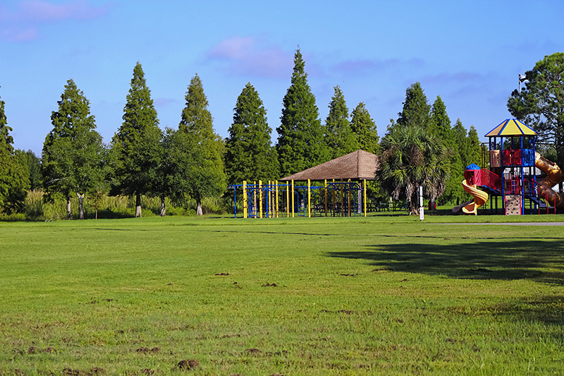 Playground inside Sheffield Park, Oldsmar, Florida, United States