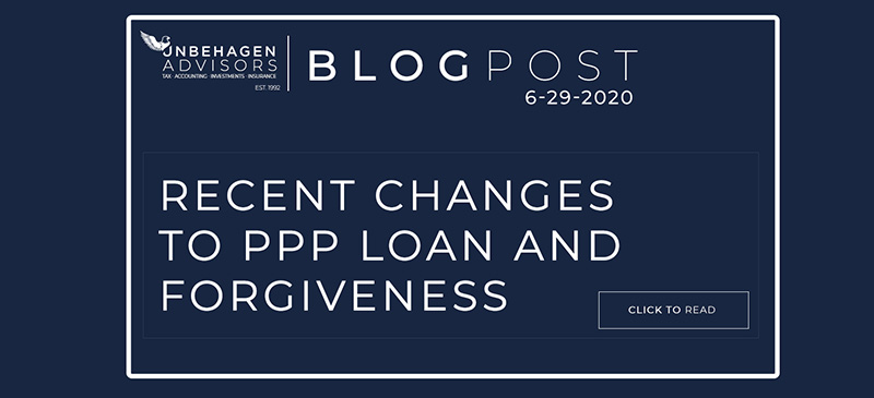 PPP Loan Changes