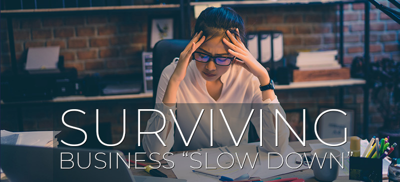 Surviving business slow down,